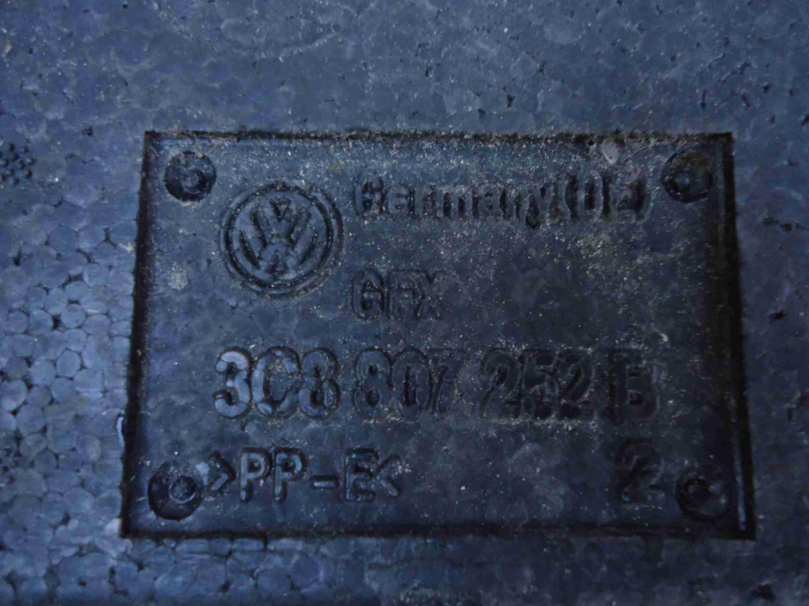 Абсорбер бампера 3C8807252B   Volkswagen Passat CC (357) 2008 - 2012 2.0TFSI