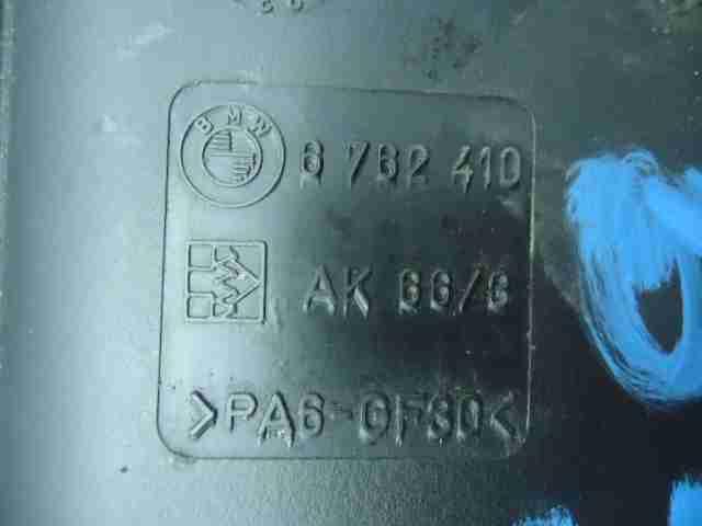 Абсорбер (фильтр угольный) 6762410   BMW X5 E53 1999 - 2006 3.0i