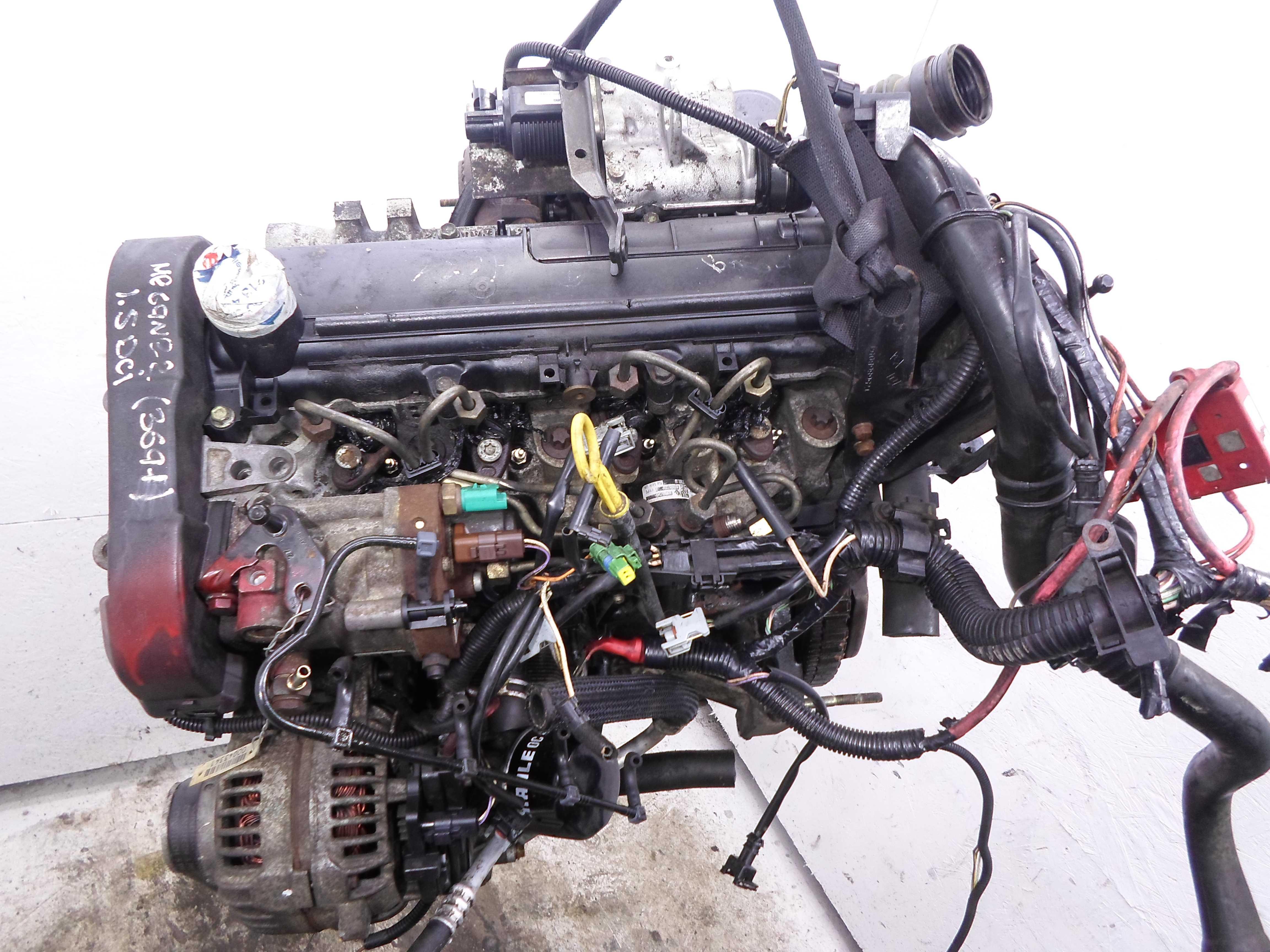 Двигатель K9K  Delphi, стартер сзади Renault Megane II (KM,LM) 2003 - 2009 1.5dCi