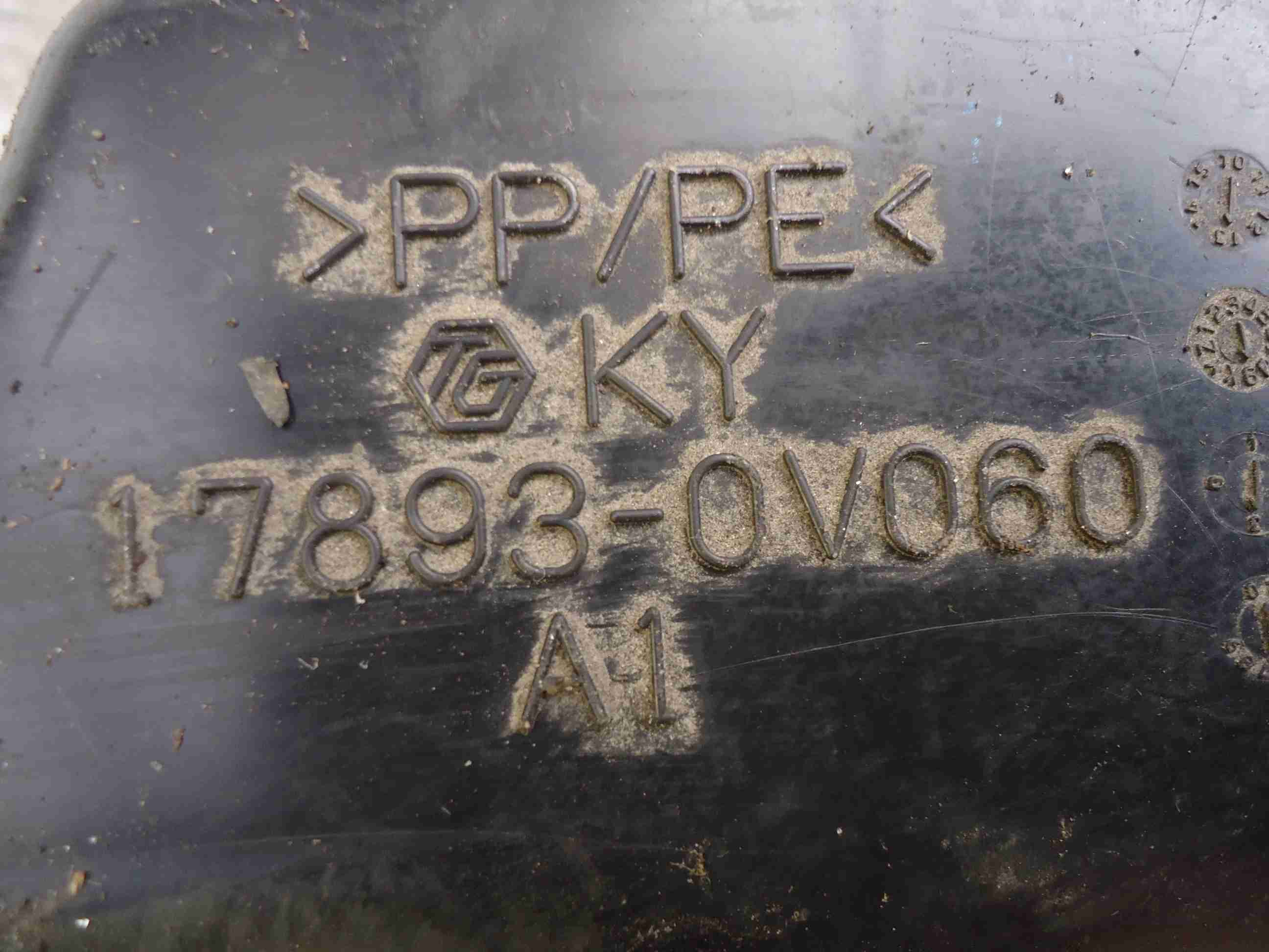Резонатор воздушного фильтра Toyota  178930V060