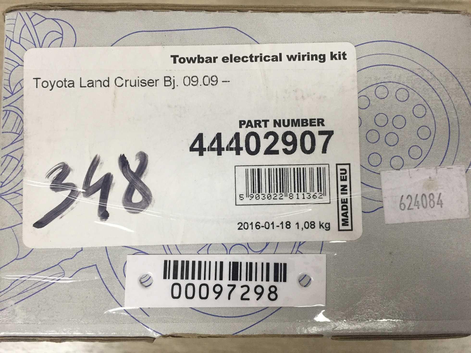 Блок управления прицепным устройством   44402907 44402907-13
