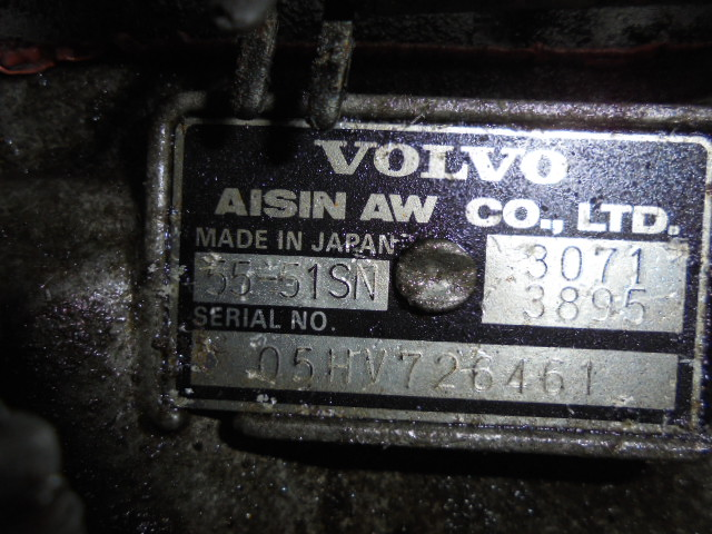 АКПП 5551SN   Volvo S40 II (MS) 2004 - 2012 2.4i