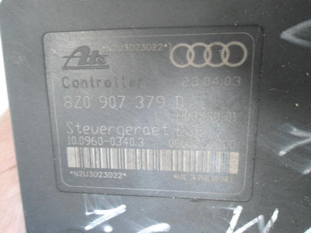 Блок ABS 8Z0614517G  8Z0907379D Audi A2 (8Z) 2000 - 2005 1.6FSI