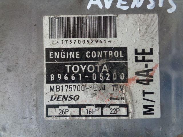 Блок управления ДВС 8966105200   Toyota Avensis I (T220) 1997 - 2003 1.6i