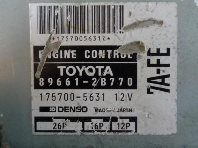Блок управления ДВС 896612B770   Toyota Celica VI (T200) 1993 - 1999 1.8i