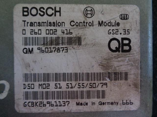 Блок управления ДВС 96017873  0260002416 Opel Omega B 1994 - 2003 2.0i