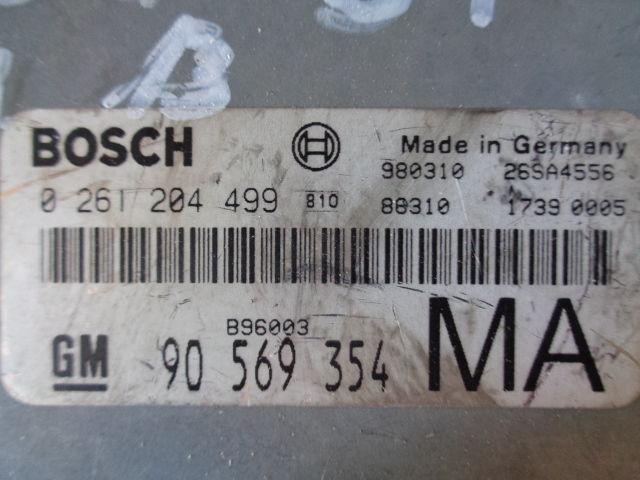 Блок управления двигателем   90569354