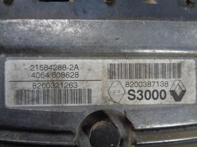 Блок управления ДВС 8200321263  8200298457 Renault Megane II (KM,LM) 2003 - 2009 1.6i