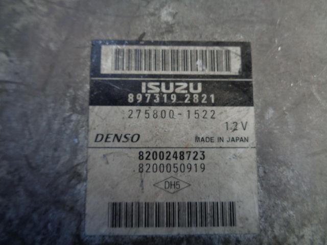 Блок управления ДВС 8200248723  8973192821 Renault Espace IV (JK) 2002 - 2012 2.2CDI