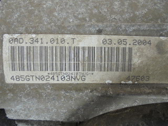 Раздаточная коробка   0AD341010T NVG