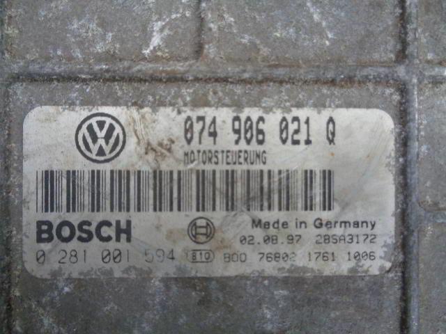 Блок управления ДВС 074906021Q   Volkswagen LT II 1996 - 2006 2.5TDI
