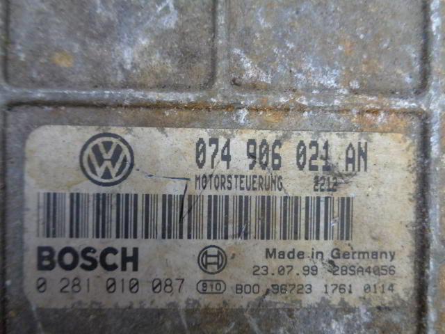 Блок управления ДВС 074906021N   Volkswagen LT II 1996 - 2006 2.5TDI