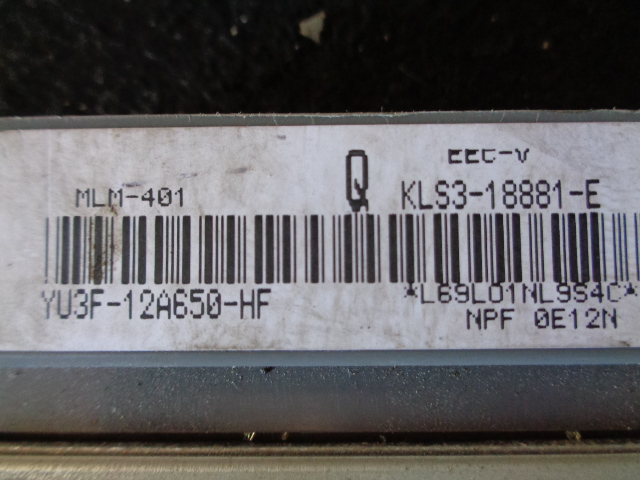 Блок управления ДВС YU3F12A650HF  KLS318881E Mazda 626 V (GF,GW) 1997 - 2002 2.5i