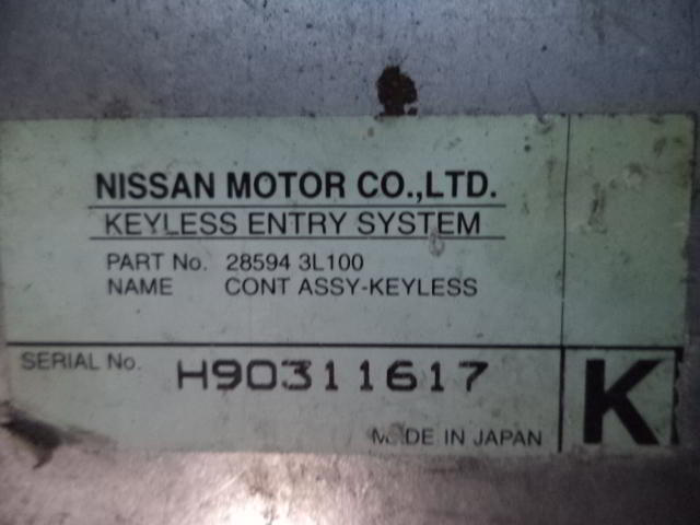 Блок управления 285943L100  H90311617 Nissan Maxima IV (A32) 1994 - 2000 2.0i