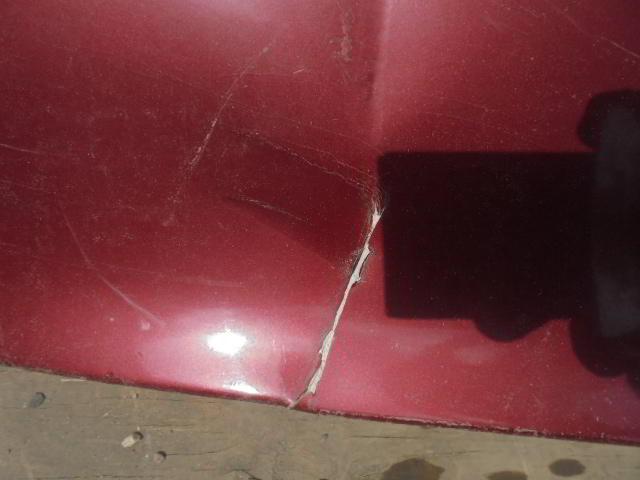 Бампер задний 1688850225  Дефект Mercedes A-klasse (W168) 1997 - 2004 1.6i