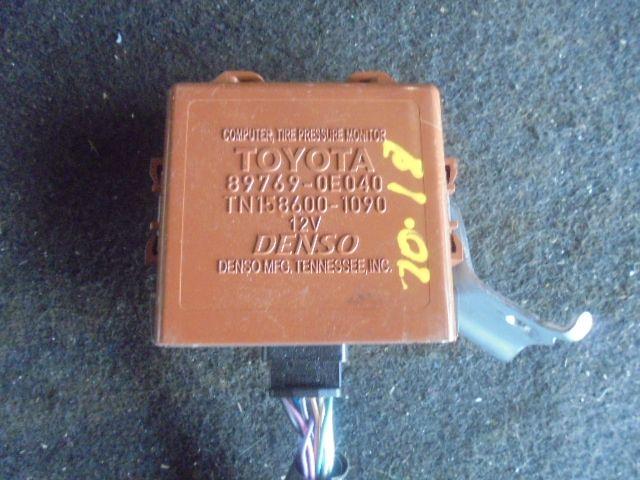 Блок контроля давления в шинах 897690E040  1586001090 Toyota Highlander II (XU40) 2007 - 2013 3.5i