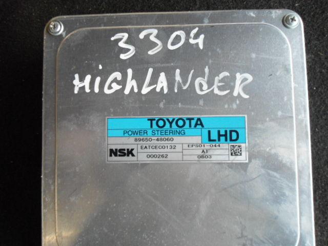 Блок управления 8965048060   Toyota Highlander II (XU40) 2007 - 2013 3.5i