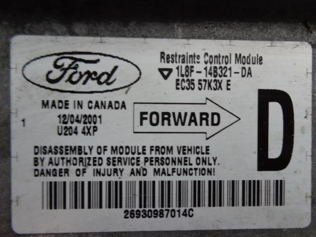 Блок управления подушек безопасности 1L8F14B321DA  EC3547K3XE Mazda Tribute I (EP) 2000 - 2007 3.0i