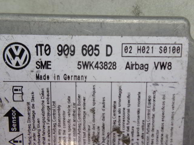 Блок AirBag   1T0909605D