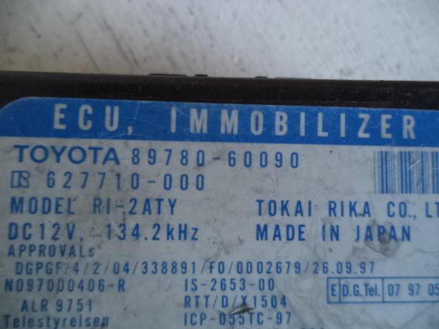 Иммобилайзер Toyota  8978060090