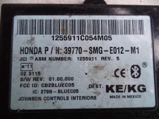 Модуль блютуз 39770SMGE012   Honda Civic VIII 2005 - 2012 2.0i