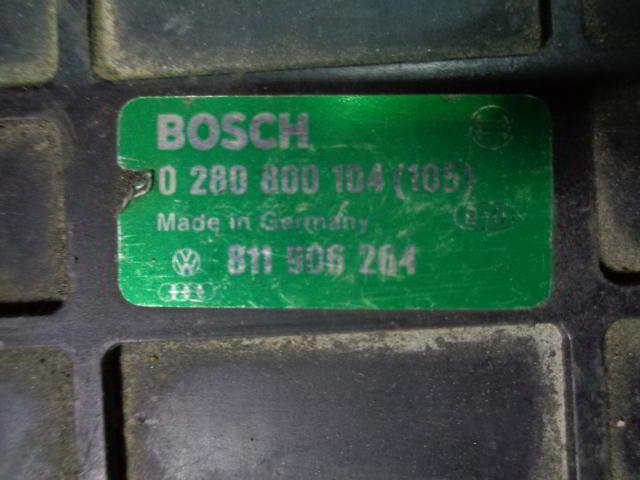 Блок управления ДВС 811906264   Audi 80 B3 (8A) 1986 - 1991 1.8i
