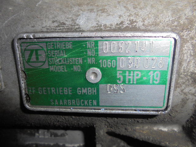 АКПП DSS  5HP19 Audi A4 B5 (8D) 1994 - 2001 2.8i