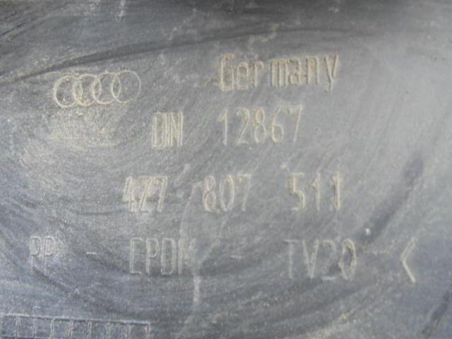 Бампер задний 4Z7807511  Под парктроники Audi Allroad C5 (4BH) 2000 - 2005 2.7T