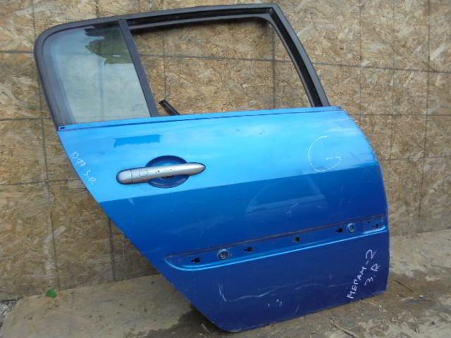 Дверь задняя правая    Renault Megane II (KM,LM) 2003 - 2009 1.6i