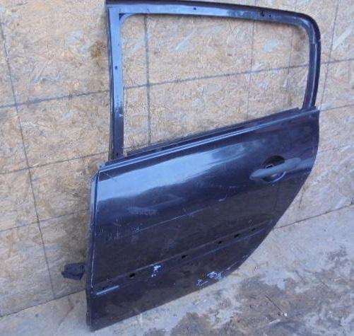 Дверь задняя левая   Без стекла Renault Megane II (KM,LM) 2003 - 2009 1.6i