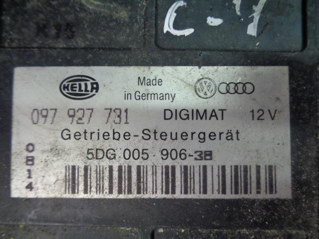 Блок управления КПП 097927731   Audi 80 B4 (8C) 1991 - 1995 2.3i