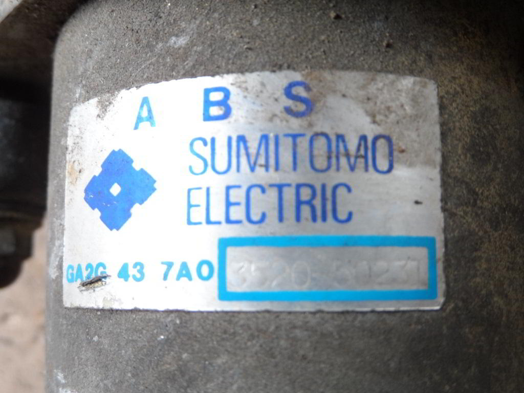 Блок ABS GA2G437AO  352050231 Mazda 626 IV (GE) 1991 - 1998 2.0i